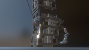 Bullet physics demolition animation-3