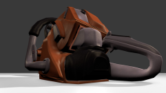 Chainsaw Low-Poly