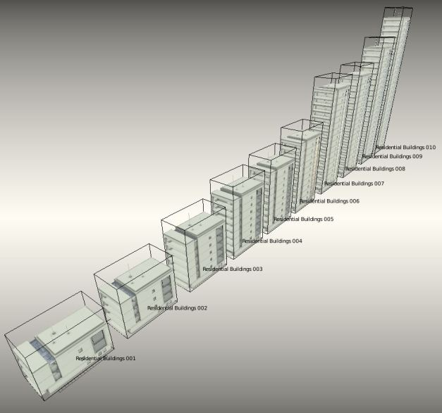 Residential Buildings Array