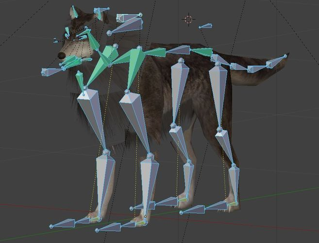 Wolf with Animations - Download Free 3D model by 3DHaupt