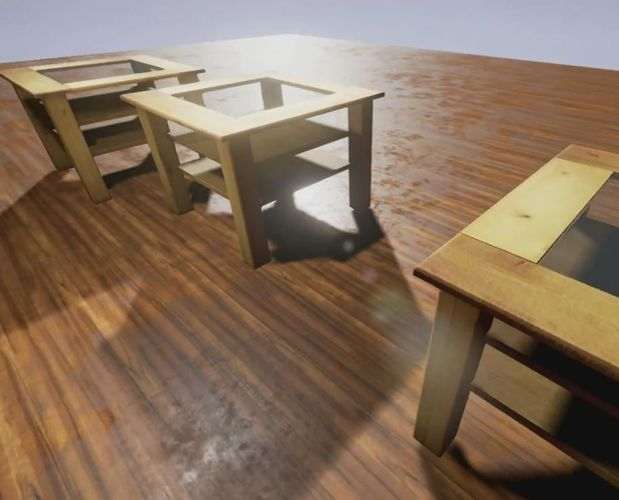 wooden-table-with-glass-top-lowpoly-3d-model-low-poly-2