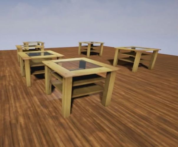 wooden-table-with-glass-top-lowpoly-3d-model-low-poly-4