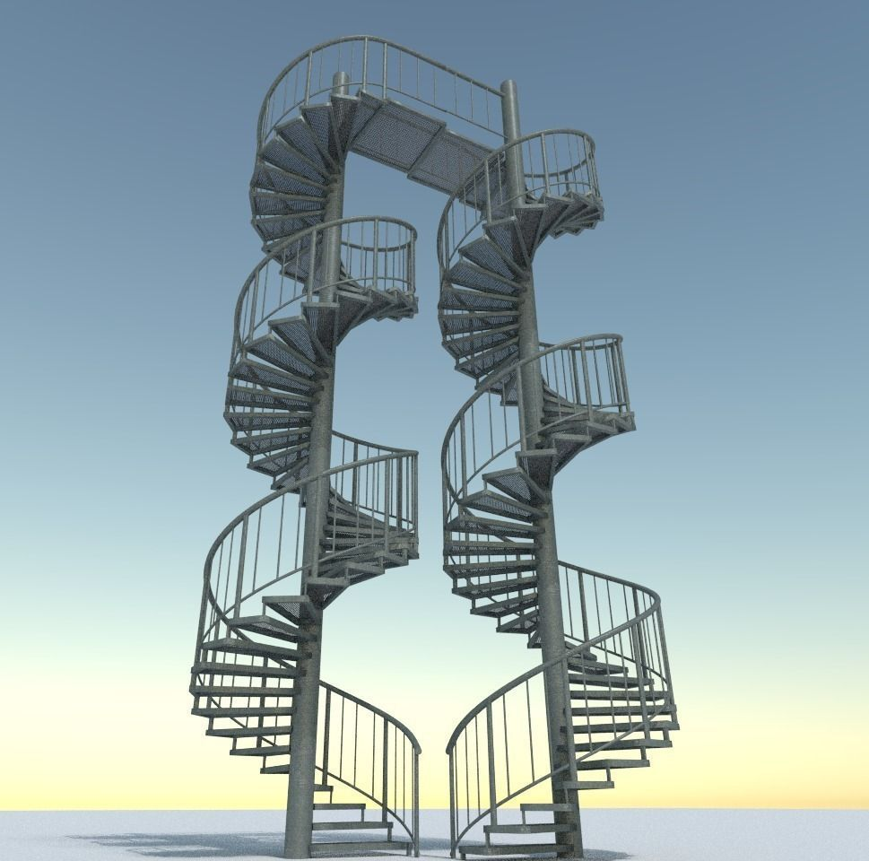 3d-models-architectural-engineering-aluminum-spiral-staircases- (13)