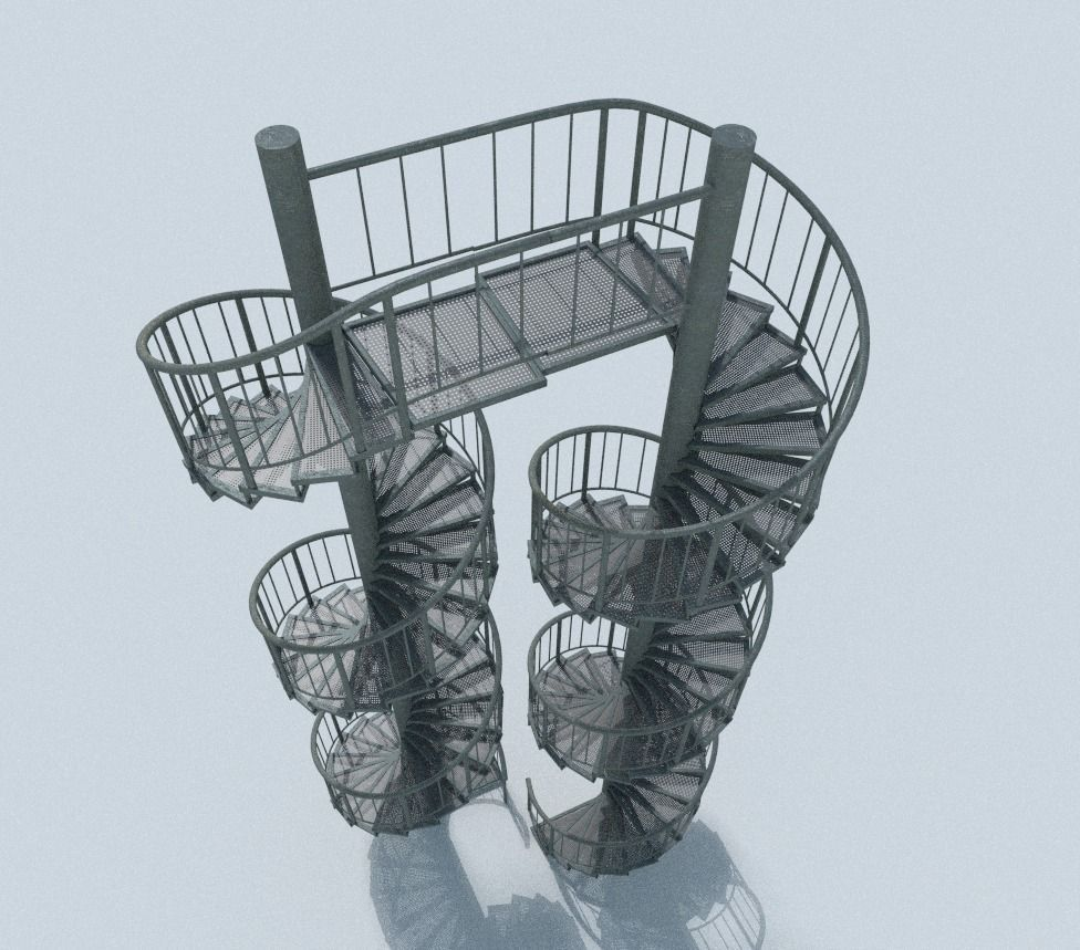 3d-models-architectural-engineering-aluminum-spiral-staircases- (19)