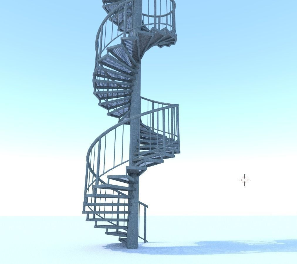 3d-models-architectural-engineering-aluminum-spiral-staircases- (9)