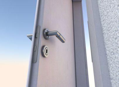 Animated Room Door - Cycles Render