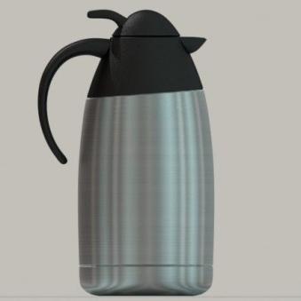 Aluminum Coffee Pot