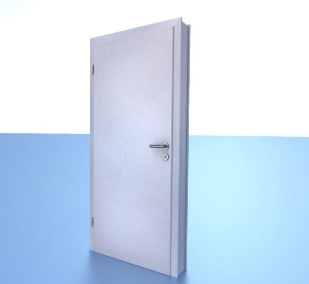 Animated Room Door