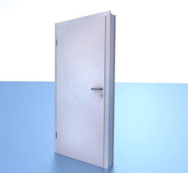 Animated Room Door