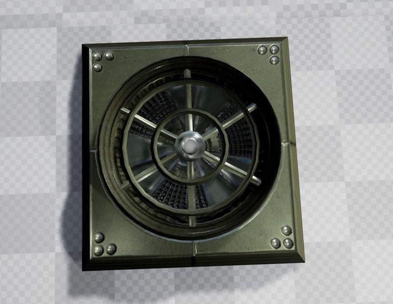 Industrial Fan 3d-Model
