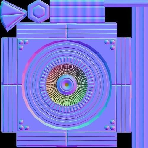 Industrial Fan 3d-Model Texture