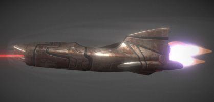 Spaceship - Keeper - Rusty Version (3)