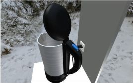Water Boiler with Rigged Electric Cable