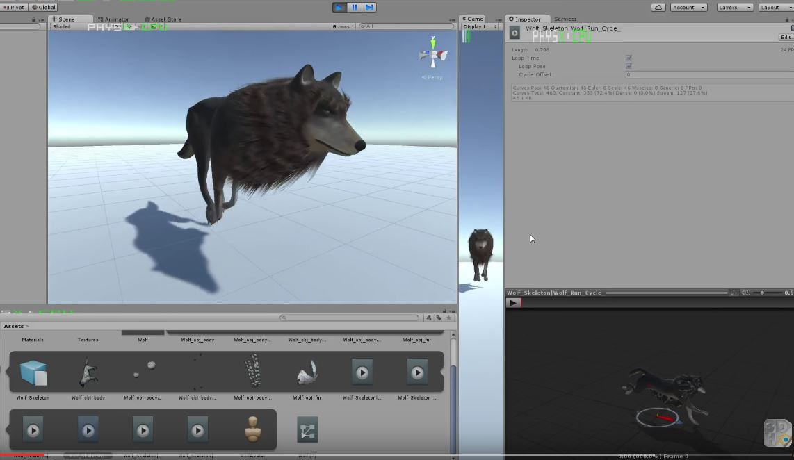 Wolf test in Unity 5