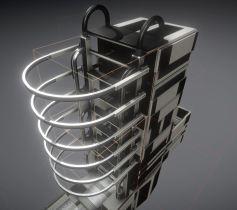 Modular Sci-Fi Ladders Plastic Version (48)