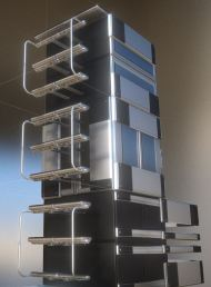 Modular Sci-Fi Ladders Silver Version (11)