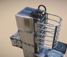 Modular Sci-Fi Ladders Silver Version (23)