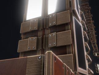 Modular Sci-Fi Ladders Woody Version (13)