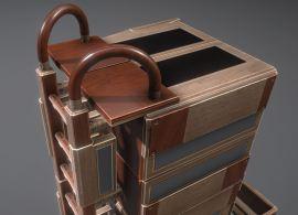 Modular Sci-Fi Ladders Woody Version (15)