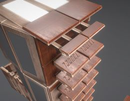 Modular Sci-Fi Ladders Woody Version (18)