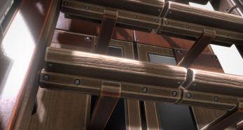 Modular Sci-Fi Ladders Woody Version (21)
