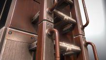 Modular Sci-Fi Ladders Woody Version (9)