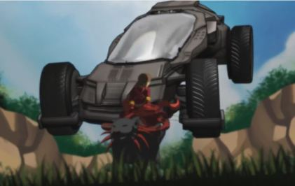 Futur Car in Celfulx Trailer