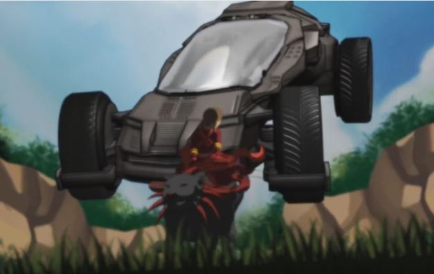 Futur Car in Celfulx Trailer