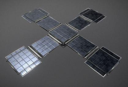 Futuristic Solar Power Module2