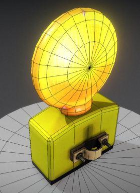 Baustellenlampe