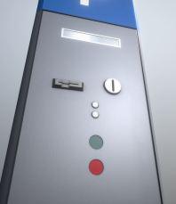 Parking ticket machine Parkscheinautomat