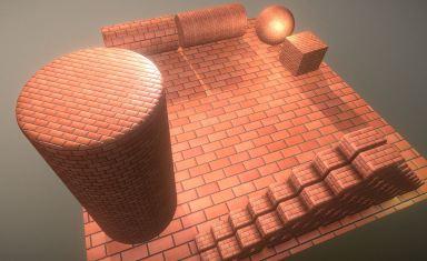Brick Wall 1 Texture Set (12)