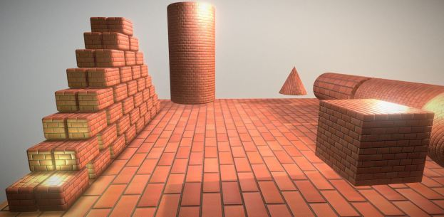 Brick Wall 1 Texture Set (13)