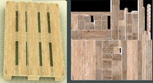 EUR Wood Pallet Low-Poly Version (1)