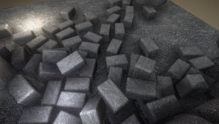 Gravel Ground Texture Set (5)