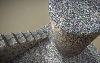 Gravel Ground Texture Set (9)