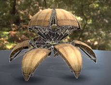 Hydraulic Sphere Bot - Forest Version -3DHaupt (2)