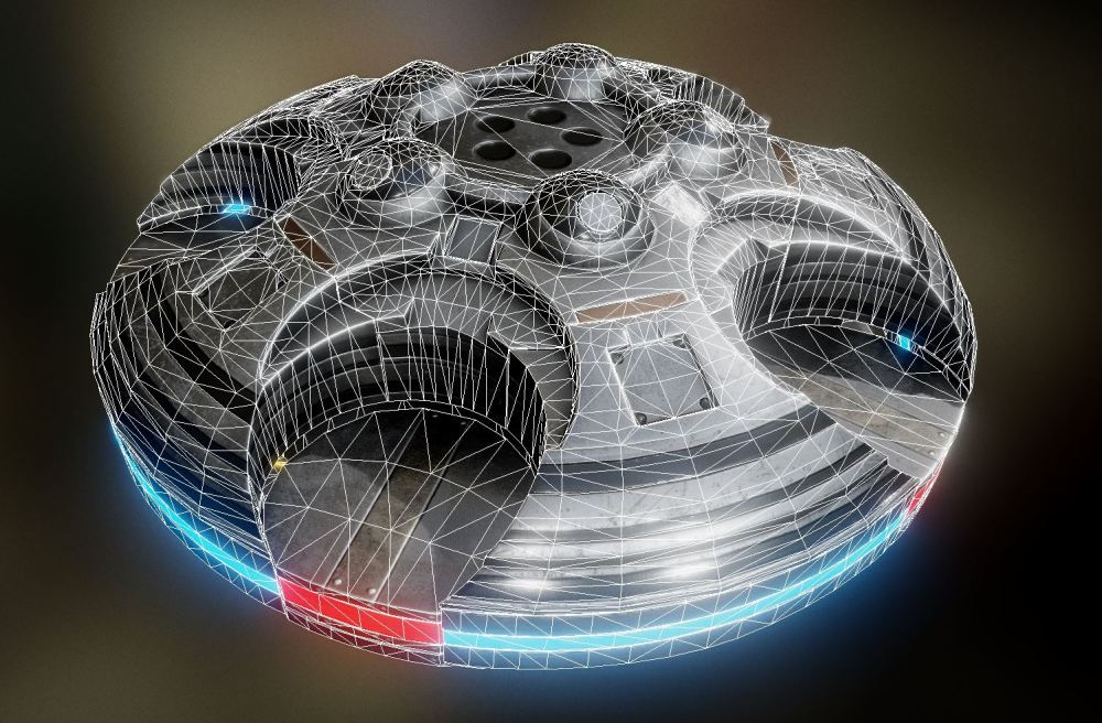 UFO Type 4 - Buy Royalty Free 3D model by 3DHaupt