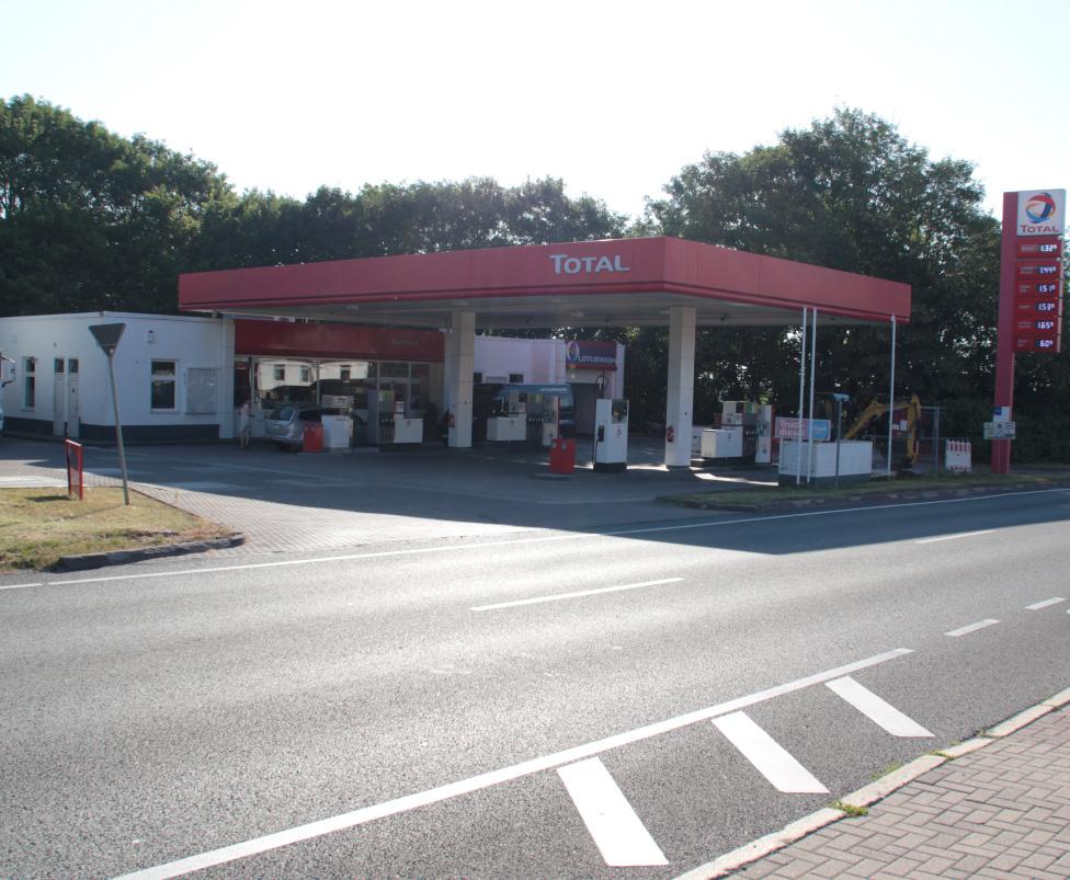 Tankstelle in Ilmenau
