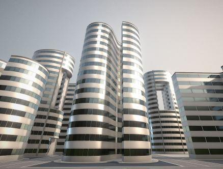 Urban Construction Animation (WIP-2)
