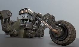 Futuristic Five-wheeled Building (Five Wheeler) (1)