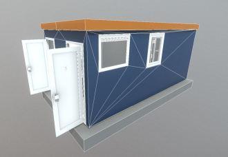 Low-poly break room (15)