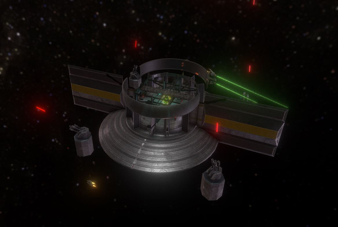 Space Station Scene