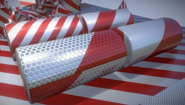 Traffic Reflection Foil (4)_by_3DHaupt