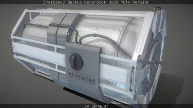 Emergency Backup Generator High Poly Version_by_3DHaupt0021