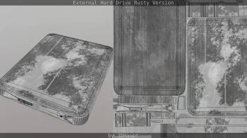 External Hard Drive Rusty Version_by_3dhaupt_1301