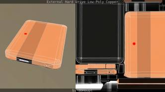 _External_Hard_Drive_Low-Poly_Copper_by_3dhaupt_2025