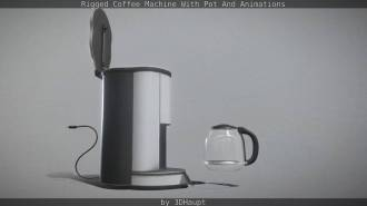Rigged Coffee Machine With Pot And Animations_by_3dhaupt_0112