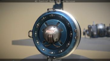 AI Control Module Blue Version by 3dhaupt0012