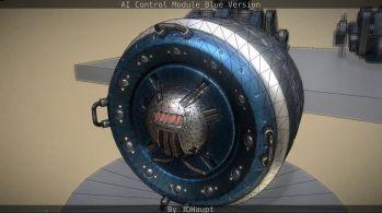 AI Control Module Blue Version by 3dhaupt0306
